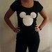 Mickey mouse marškinėliai