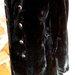 Juodas mutoninis paltukas