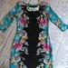 Gėlėta labai graži suknelė, dydis S/M