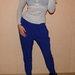 Nuostabios mėlynos spalvos kelnės