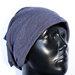 Nauja pilka su violetiniu atspalviu beanie kepurė