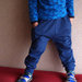 Treninginės hareminės kelnės mėlynos 100cm