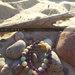 Natūralių akmenukų apyrankė