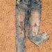 ZARA plėšyti džinsai