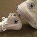 Balti nauji Converse sportiniai bateliai