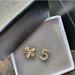Chanel išskirtinio dizaino auskarai