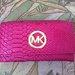 Rožinė MK piniginė
