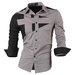 Nauji vyriški marškiniai ilgomis rankovėmis
