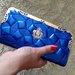 mėlyna piniginė