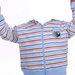 Melsvas dryžuotas džemperiukas Disney 80cm