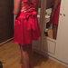 Desir raudona suknelė