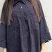 Violetiniai verstos odos marškiniai