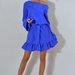 Nuostabi suknelė iš viskozinio trikotažo