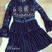 šventinė gipiurine suknele