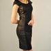 juoda klasikine suknelė
