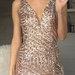 Prabangi trumpa suknelė