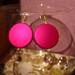 rožiniai auskarai