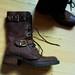 patvarus odiniai batai