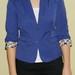 Klasikinis mėlynas MANGO švarkelis