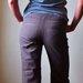 rudos velvetinės smagios kelnės