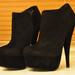 High heels juodi