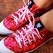 AKCIJA - Hello Kitty blizgus ruzavi sportbatukai