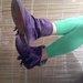 violetiniai batai