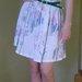 Vintažinė gėlėta suknelė