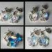Swarovski auskarai ir sidabras 11