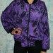 Violetinis įdomus džemperis