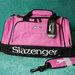 Rožinis slazenger krepšys