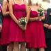 Ryškios pamergių suknelės