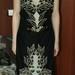 juoda nuostabi suknelė