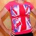 Marškinėliai su UK vėliava