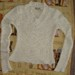 Baltas megztinis