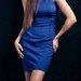 Zara sodri mėlyna suknelė