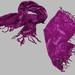 Bench avietinė/violetinė skara - šalis
