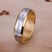 Naujas paauksuotas žiedas ( Dydis 17 arba 20 )