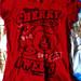 Raudona cherry maike