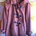 Stradivarius rudas paltas