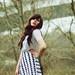 Baltai-juodas asimetriskas sijonas