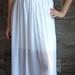 Ilgas prabangus sijonas! XS-XL baltas