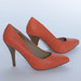 nauji oranžiniai bateliai 39 dydis