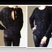 Prabangus megztinis su kaspniu XS-XL Black
