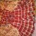 Raudona vasariška suknutė :)