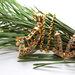 18k auksu dengtas rinkinukas su Austrisku kristolu
