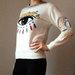 Kenzo šiltas megztinis Baltas XS-L