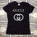 Gucci moteriški marškinėliai
