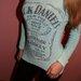 Melsvas Jack Daniels megztukas