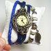 "Retro stiliaus laikrodis ""Lapelis"""